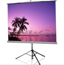Different Size Tripod Portable Screen/Tripod Standing Projector Screen/Large Amount Offer for Business &Education