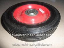 High quality wheel barrow solid rubber wheel 6*1.5