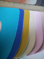 2016 Top grade best selling pu microfiber leather for making shoes