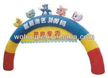 Cheap Inflatable Arch, inflatable finish line arch