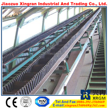 bulk transporting widely used in mining rubber conveyer price