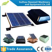 SuperAir-R/S 30w14inch roof solar attic exhaust fan with solar panl