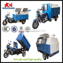 2015 factory price garbage tricycle