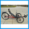 over seat steering suspension recumbent trike