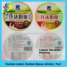 Envonrimental label sticker,sticker not cost the earth,label for green food