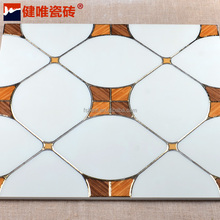 Foshan manufacturer top grade royal hospital decoration crystal porcelain floor tile