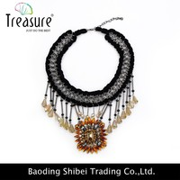 China Jewelry Fashion wholesale kids necklace kids bead necklace angel wing necklace