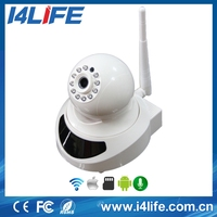 P2P(Plug and Play) HD 32GB SD card, two-way audio,Wireless,remote internet viewing,motion detection IP Camera