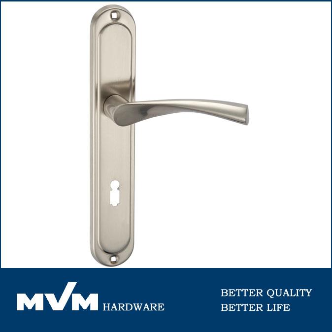 Aluminum Alloy European Door Handle Lockinterior Door Lever Handles