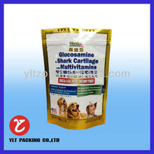 2014 printing food grade plastic food bag pack Agricultural products with clear window front