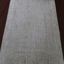 High quality yarn dyed stripe linen Arabic curtains for home