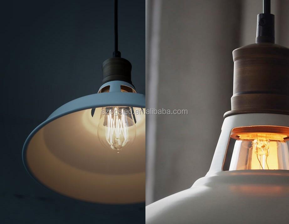 Nostalgie industriellen edison lampen design schwarzwei for Lampen nostalgie