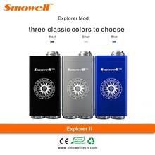 2015 Shenzhen Smowell max vapor electronic cigarette pen herb vaporizer mechanical mod Explorer II