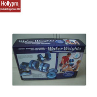 TV340 Plastic adjustable water dumbbell water weights