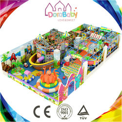 Interesting unique design park for children, indoor playground equipment for sale