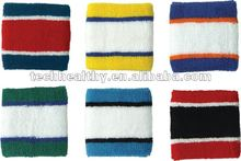 2012 New promotional gifts Cotton Sport Wristband