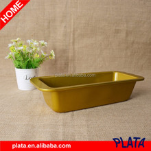 "12""x5"" Gold, Nonstick Loaf Pan"