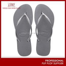 Latest design 100 rubber solid color flip-flops