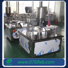 Cup filling and sealing machine for small business