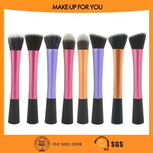 Synthetic Hair Round Top Contour Brush and Flat Top Kabuki Brush Set