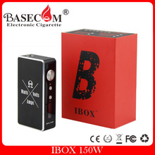 Hottest IBOX 150W BOX MOD Vapor Variable Wattage BOX MOD 150W pandoras box mod clone