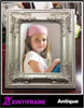 2015 Wholesale 5x7 Handmade Home Decoration Show Pieces Black Wood Photo Picture Frame
