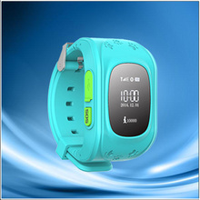 High Accuracy Child Personal GPS Tracker GPS Watch with SOS Button vehicle tracking software