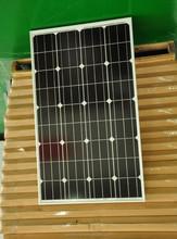 80W MONOCRYSTALLINE SOLAR PANEL FOR SOLAR POWER SYSTEM FOR GLOBAL MARKETS