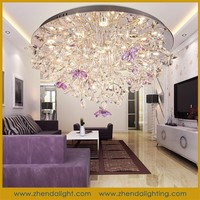 wholesale K9 crystal chandelier decoration modern light for wedding party