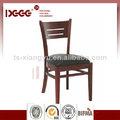 dg-w0072 Diseño moderno de metal de acero barato precio del hotel apilable silla de madera