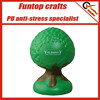 Custom logo squeeze soft foam tree shape stress ball