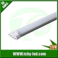 Hot item 100lm/w 2g11 pll led tube 18w replace philps tubes 40w replace phillips master for Park