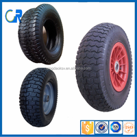 Wheel barrow tool cart pneumatic steel rim 16x6.5-8 tire