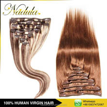 Free Samples Full End Bohemian Remy Clip In Human Hair Extension