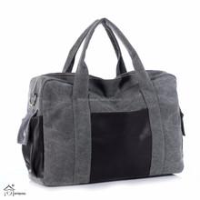 Leisure Cotton Canvas Messenger Top Handle Handbag Diaper Tote Bags for Women