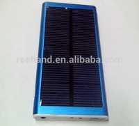 New Product 2600mah Mobile Solar Charger Power Bank Good Quality for Smart Phone Cellphones