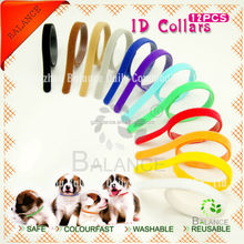 12 WhelpIDcollars - Whelping Puppy & Kitten ID Velcro Collar Bands, For Breeders