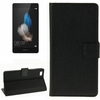 Paypal acceptable Leather flip case for huawei p8 lite with card slots