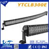 Superior bright!! led used emergency light bars 300w car led working light bar high power led driving lights YTCLB300E