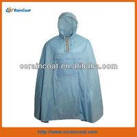 High quality polyester pvc poncho for men