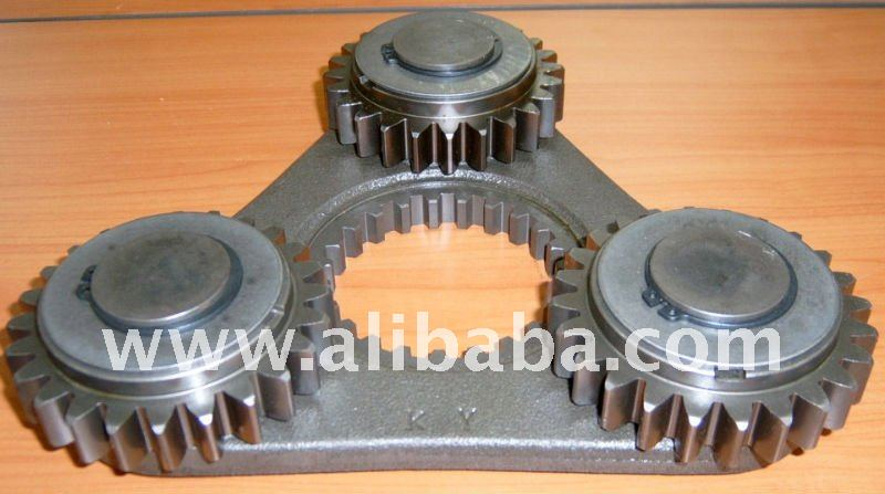 Final drive parts track motor parts travel reduction gear for Hydraulic track drive motor