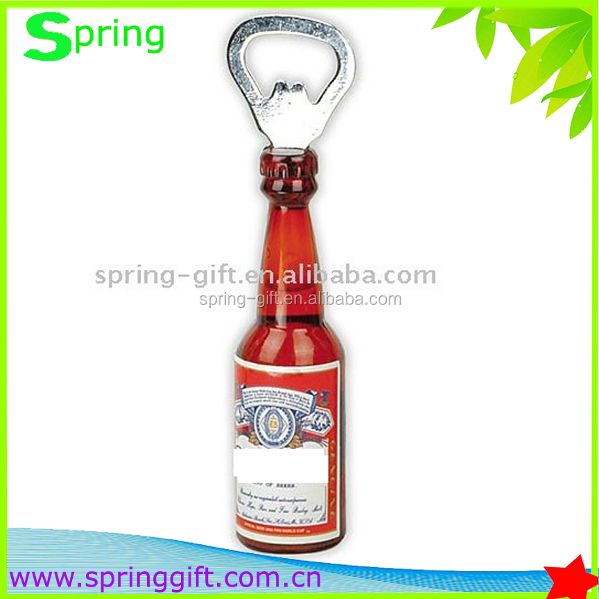 promotion metal Bottle Opener with keychain ,plastic bottle opener, custom bottle opener