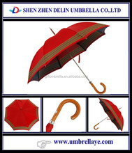 Auto open trade business beautiful lady style hot sale red 23'' umbrella