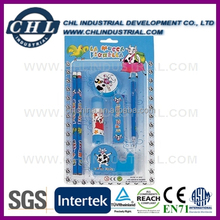 Mini school stationery kit with cheap price