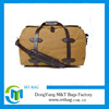 High Quality Canvas Travel Bag With Leather Handler