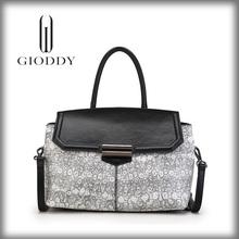 Grey Elegant Design Luxury long handle single shoulder bag,2015 New design women shoulder bag ,leather shoulder bag