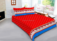 King Size Comforter Customized Printed Dots Animal Smiling face Bed Sheets modern bedroom sets