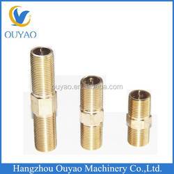 high quality manufacturer direct brass nipple fitting