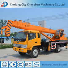 NEW HYDRAULIC MOBILE CRANE WITH TRUCK CRANE CERTIFICATION