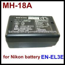 Universal li-ion battery charger for nikon en-el3e/el3e+